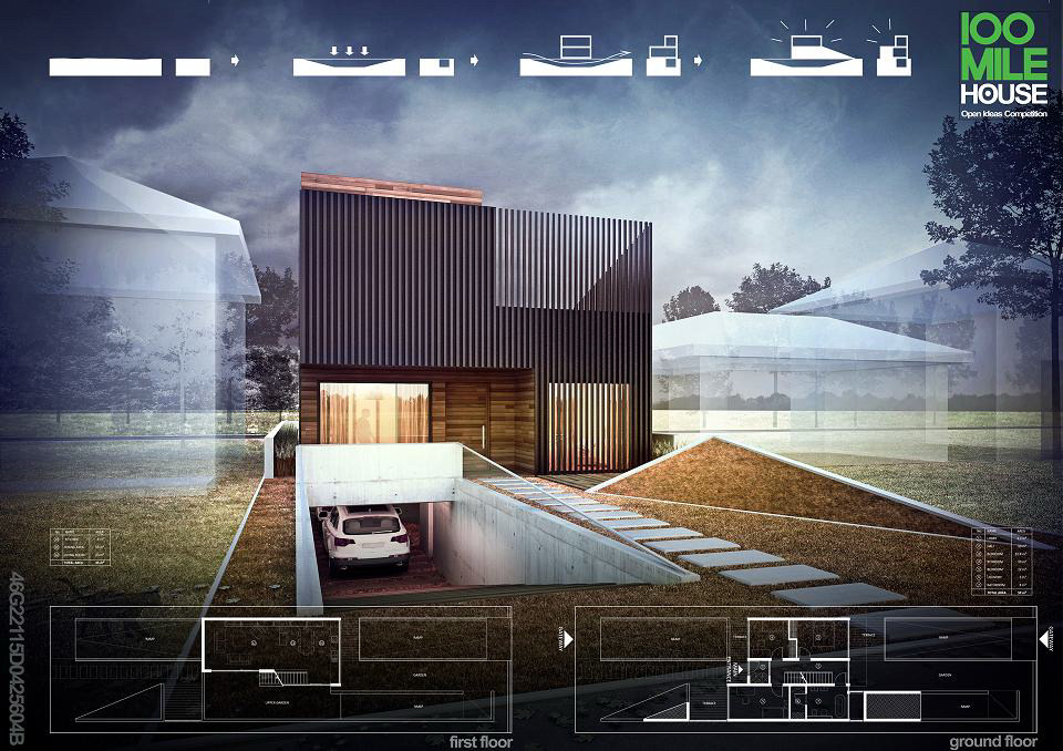 100 Mile House By Jpp Architekci Luk Studio
