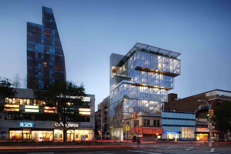 100 norfolk street by oda architecture for Architects norfolk