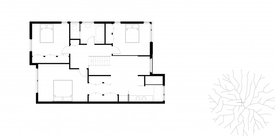 Winnett House on How To Draw Shadows In A Floor Plan