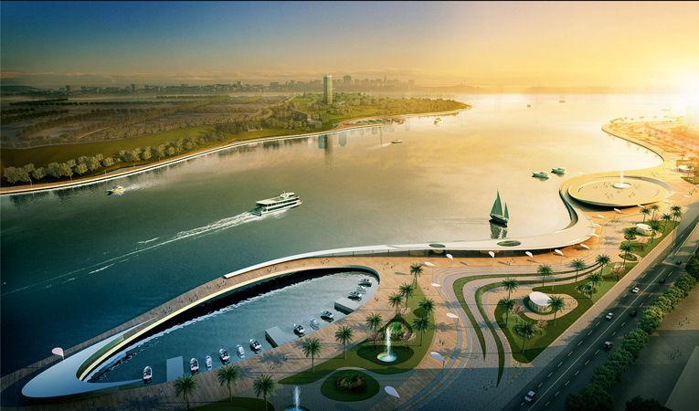 Abidjan Lagune Watrfront By Dos Architects