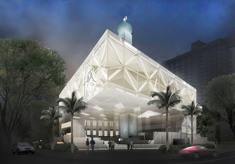 Al Ansar Mosque By Farm Architect