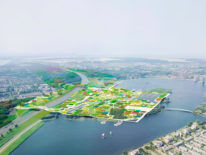 Almere Netherlands  city pictures gallery : behind the design of Almere Floriade 2022 project, dutch city Almere ...