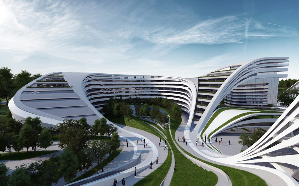 BMW North Scottsdale >> Beko Masterplan by Zaha Hadid Architects