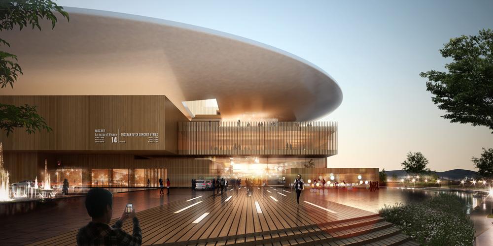 busan opera house by henning larsen architects