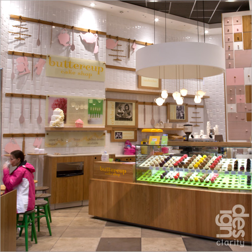 Buttercup Cake Shop by Design Clarity