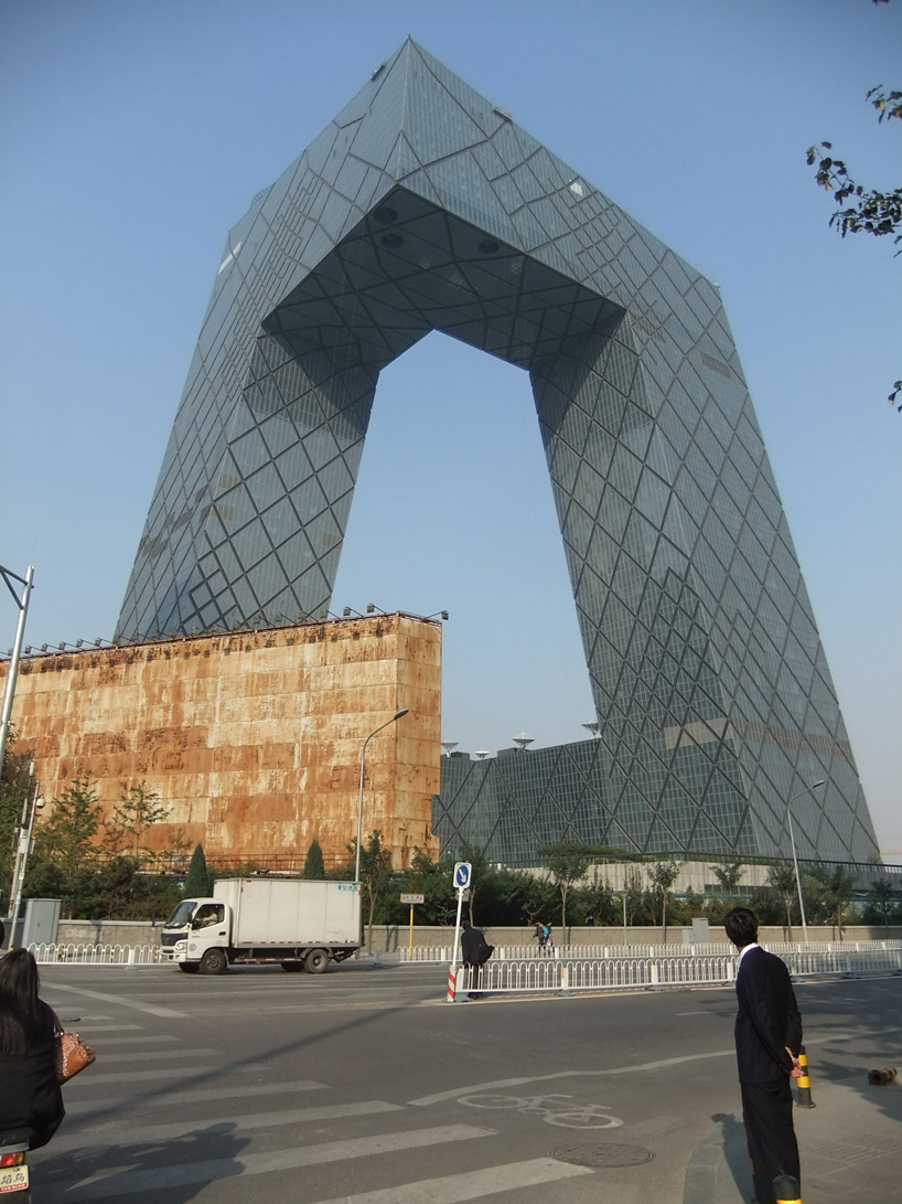 Cctv Headquarters By Office For Metropolitan Architecture Oma
