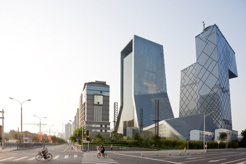 Cctv headquarters by office for metropolitan architecture oma - Oma office for metropolitan architecture ...