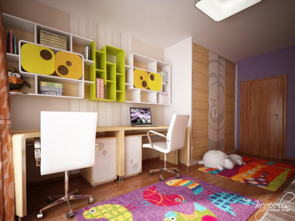 Children s bedroom by neopolis for Interior design for kid bedroom
