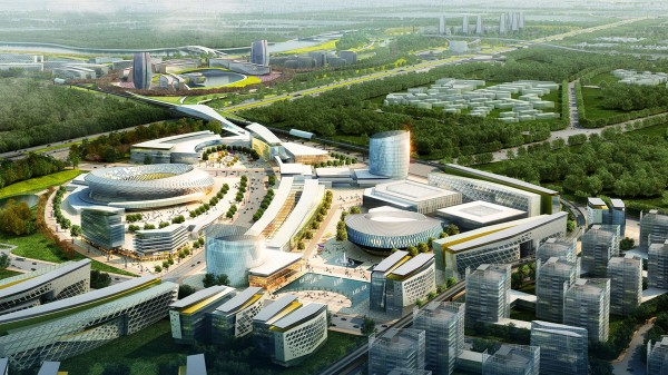 Winning Proposal For China Southern Airport City By Woods