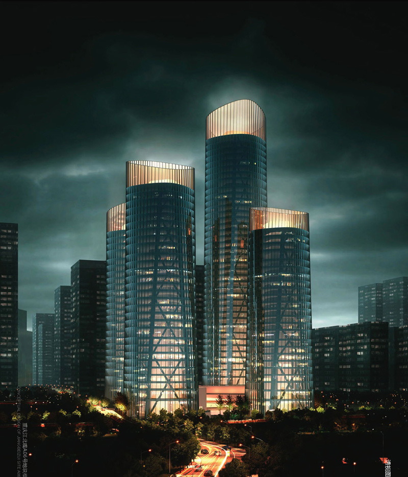 Chongqing Business Center By United Design Group