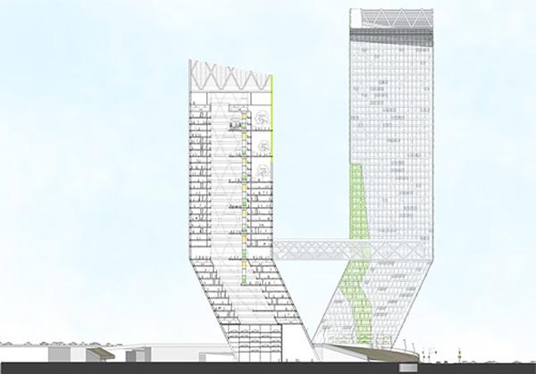 Congress Gateway Towers By Danny Mui Amp Benjamin Sahagun