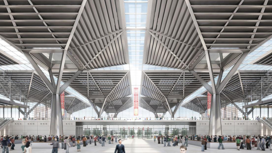 National convention and exhibition center by gmp architekten - Gmp architektur ...