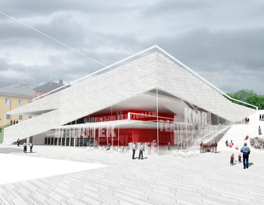 Cultural Center Plassen By 3xn