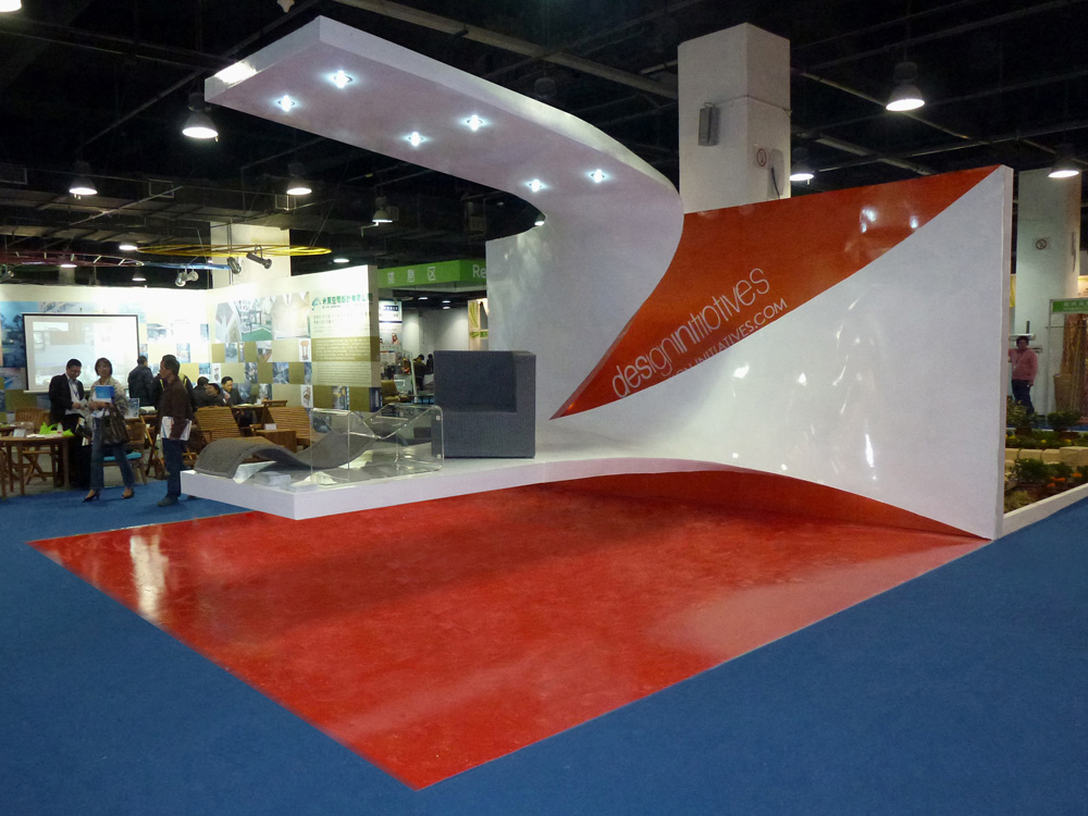 Expo Exhibition Stands Group : Stand at the outdoor lifestyle hangzhou fair by design