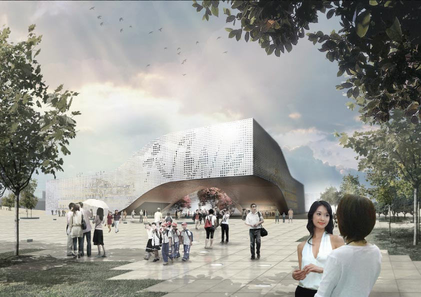 Dqz Cultural Center By Holm Architecture Office
