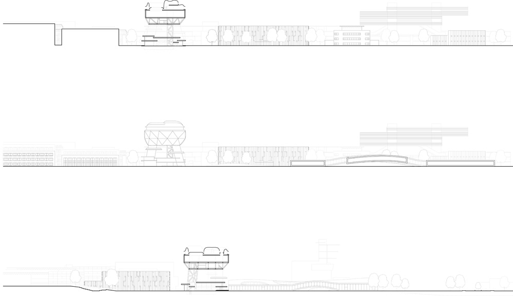 proposal for epfl campus by hhf architects awp architects