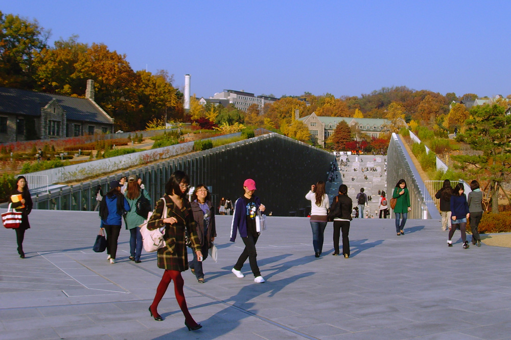 Ewha Womans University By Dominique Perrault Architecture