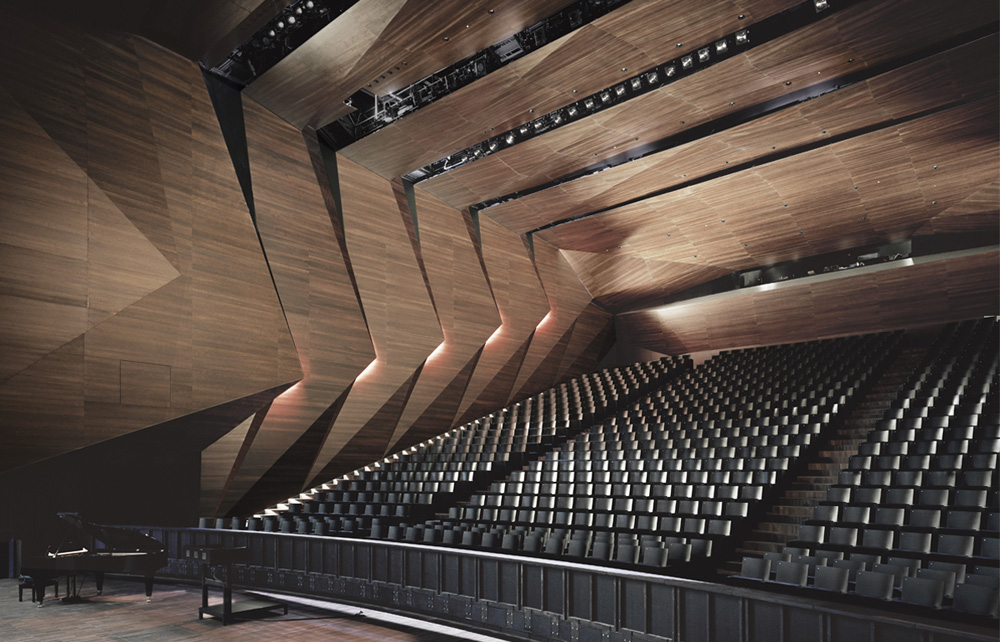 Festival Hall In Erl By Delugan Meissl Associated Architects