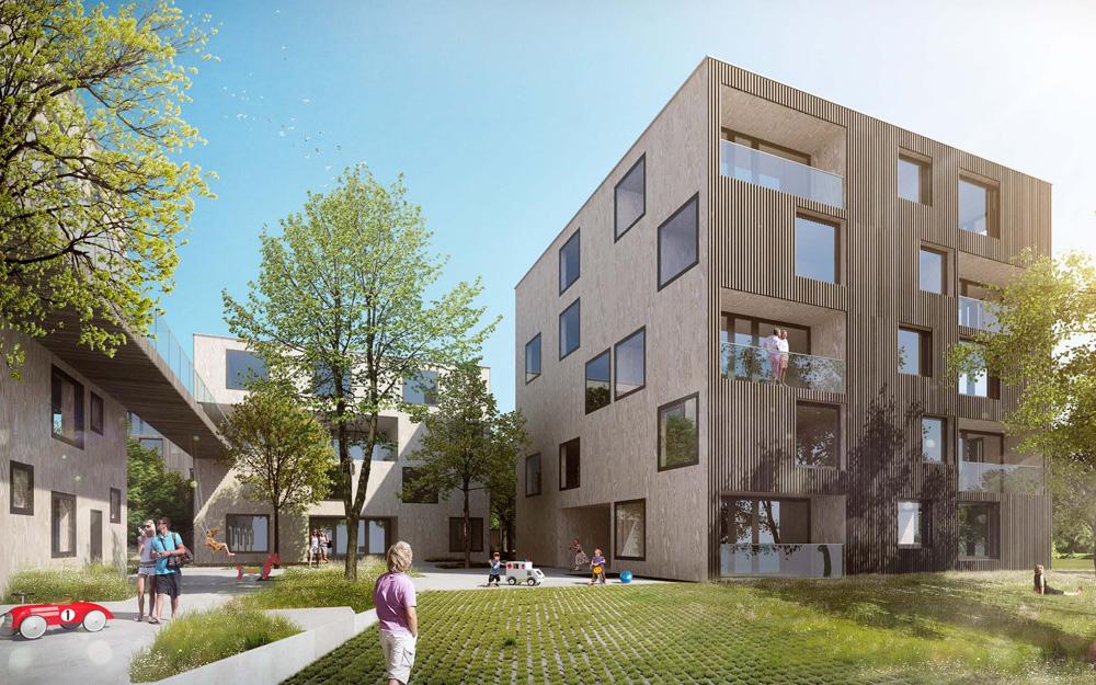 Green City Housing Complex By Chybik Kristof Associated