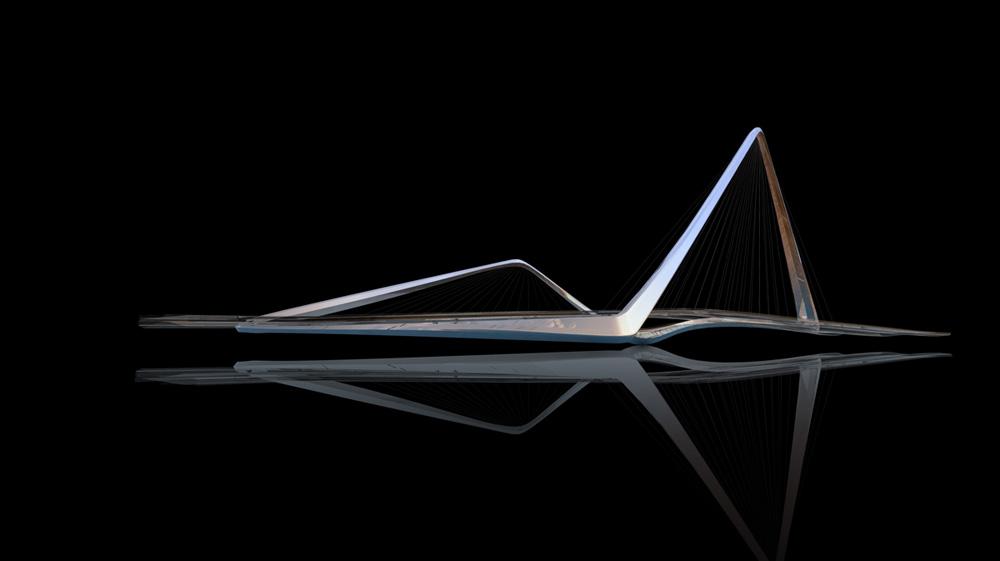 infinity loop bridge by 10 design buro happold. Black Bedroom Furniture Sets. Home Design Ideas