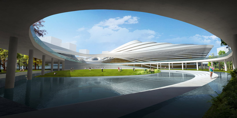 Jingzhou Sports Center By Duo China National Sports Group