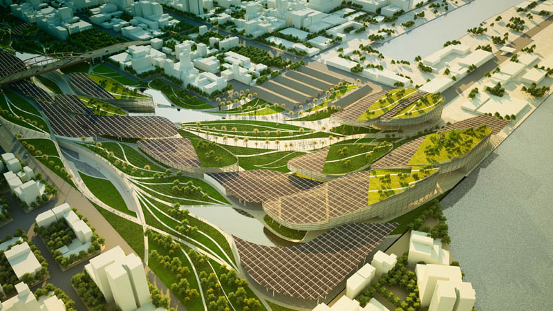 Kaohsiung port station urban design proposal by maxthreads for Mountain designs garden city
