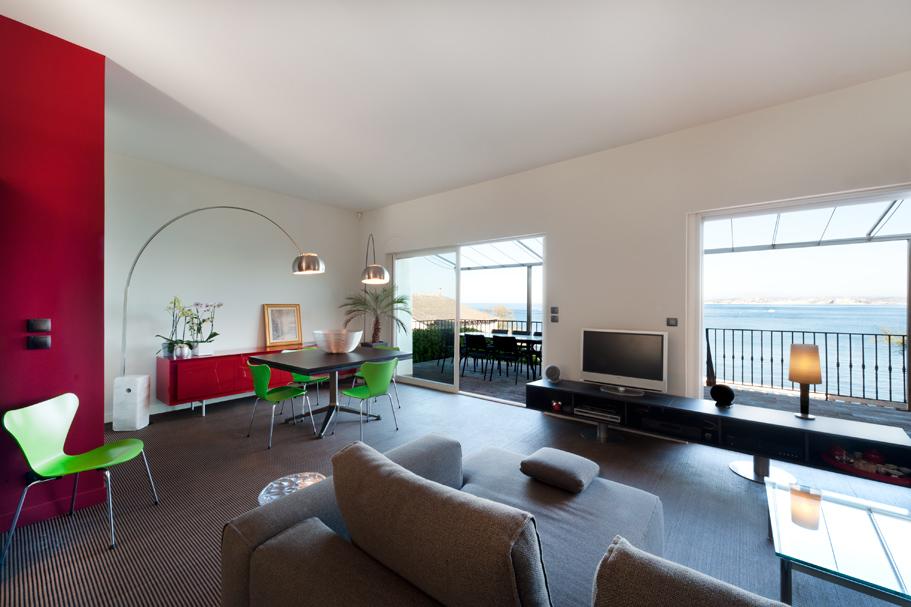 la madrague de montredon by maurice padovani. Black Bedroom Furniture Sets. Home Design Ideas
