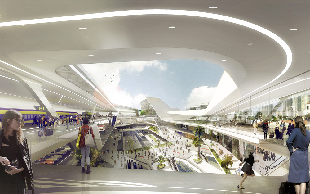 La Union Station Master Plan Eek on Interior Design Firms California