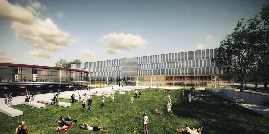 Leiden University New Science Campus By Jhk Architecten Amp Inbo