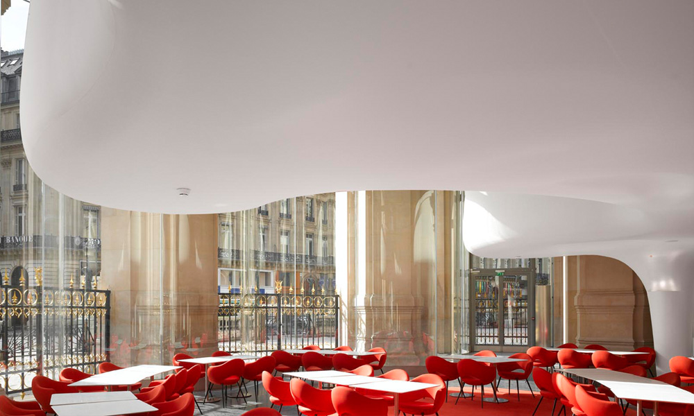 L 39 op ra restaurant by odile decq - Cafe de l opera garnier ...