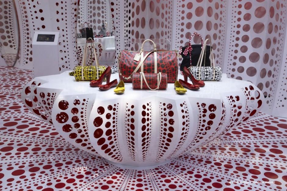 Louis Vuitton Store By Yayoi Kusama