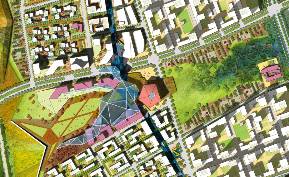 Masterplan For National Creative Cluster By Sasaki Associates