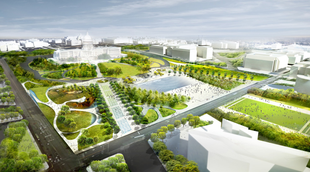 National Mall Union Square By Diller Scofidio Renfro