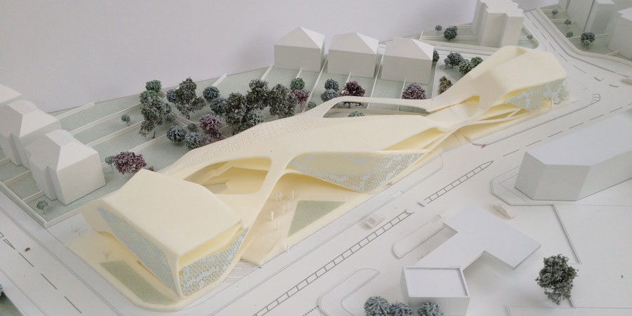 North Harrow Community Centre By Mangera Yvars Architects