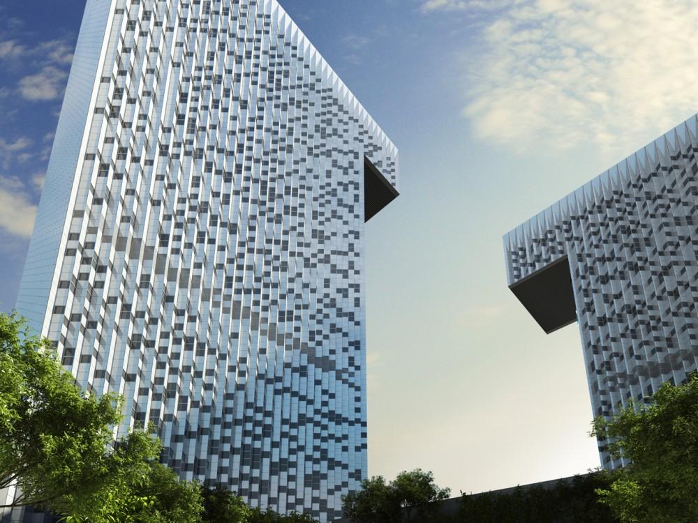Office Building In Atasehir By Saraiva Amp Associados