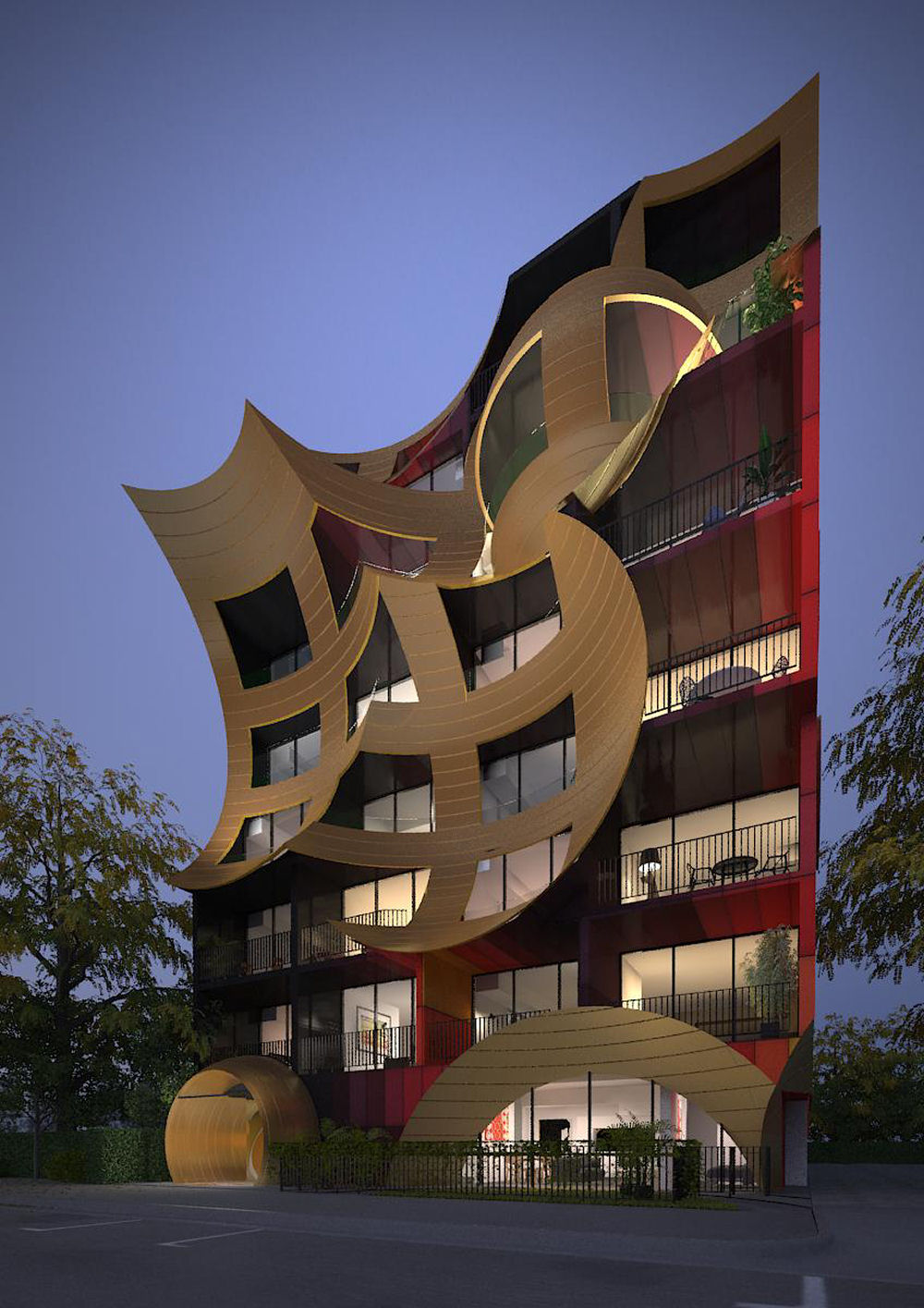 Orbis apartments by arm architecture for Architecture design company in australia