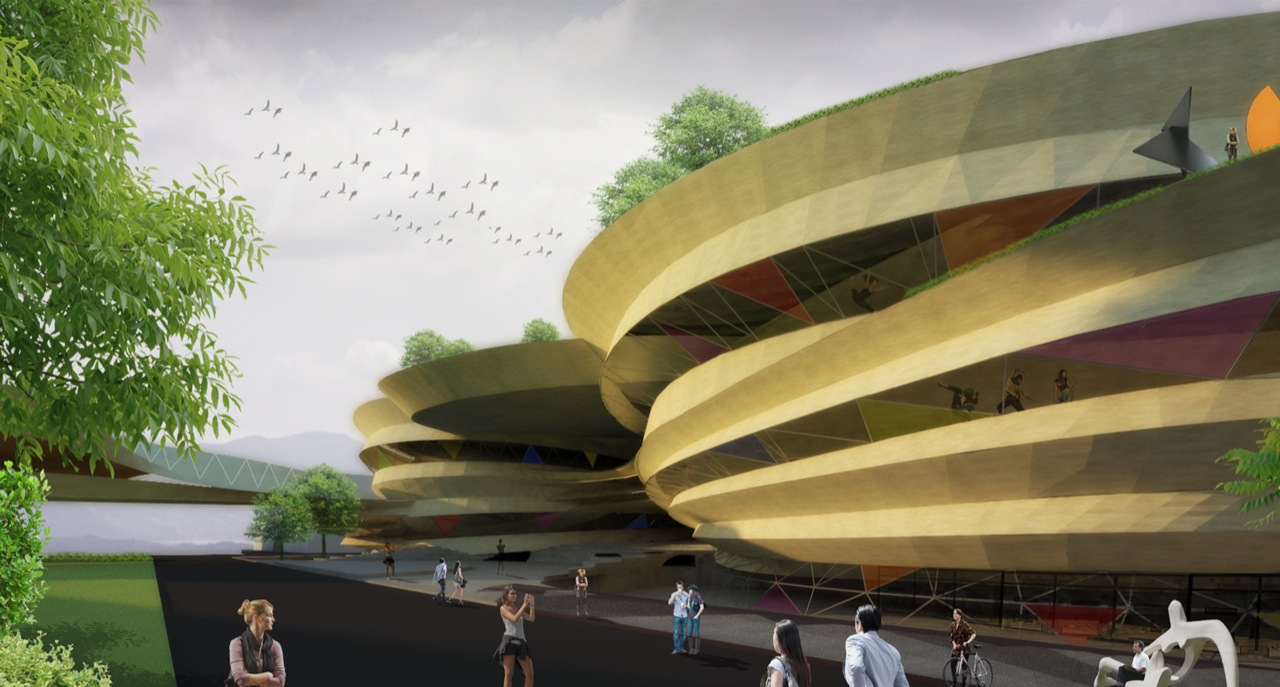 center buensalido architects theatre arts artists ccp performing artist cultural architecture philippines weaving different building buildings culture archiscene threads