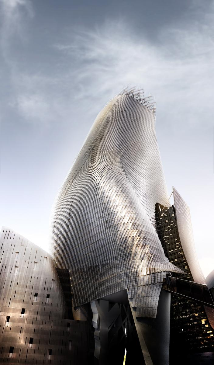 Phare Tower By Morphosis Architects