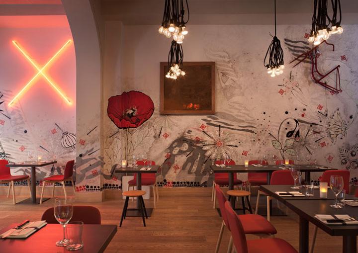 Pisacco bistro by vudafieri saverino for Art design milano