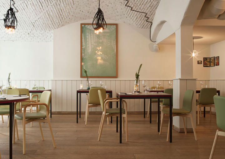 Pisacco bistro by vudafieri saverino for Ristoranti design