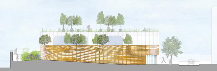 Public Swimming Pool By Mikou Design Studio