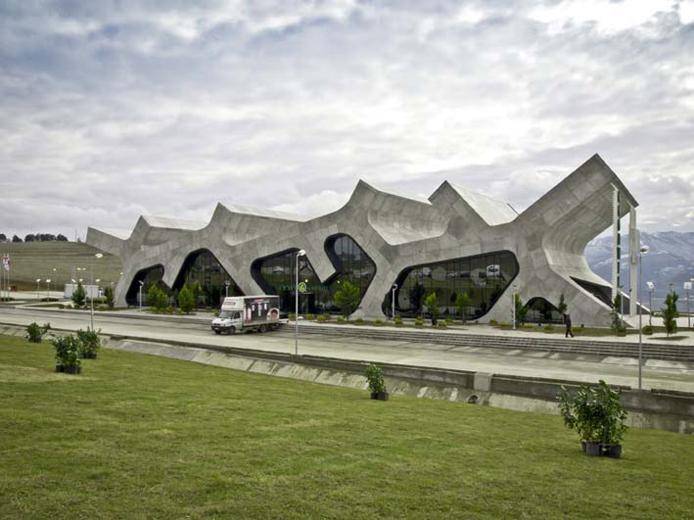 Rest Stops by Jürgen Mayer H. Architects
