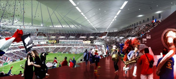 The Ffr Grand Stade By Populous And Ateliers 234