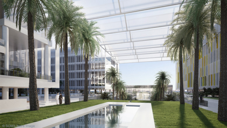 Sheikh Khalifa Medical City By Skidmore Owings Amp Merrill