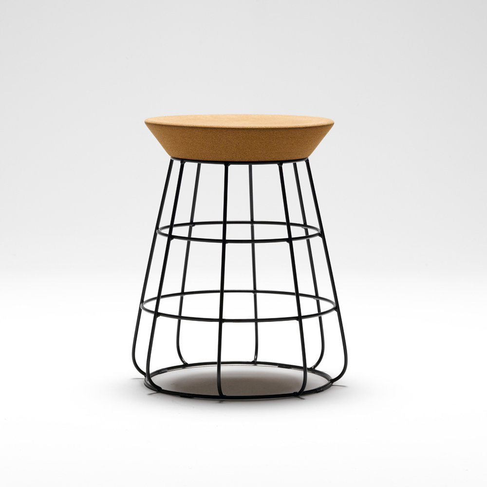 The sidekick stool by timothy john for thanks fashion house for Sofa stool design