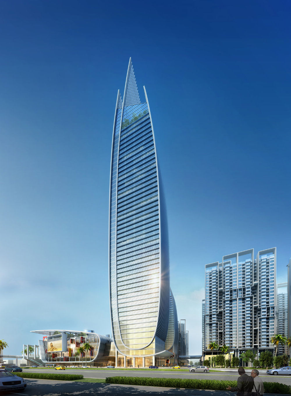 The skyworth gongming by atkins for Architecture and design