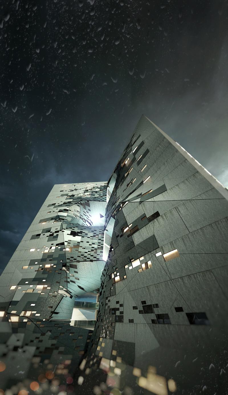 Pucpr student dormitory by p a t t e r n s for Space 120 architects