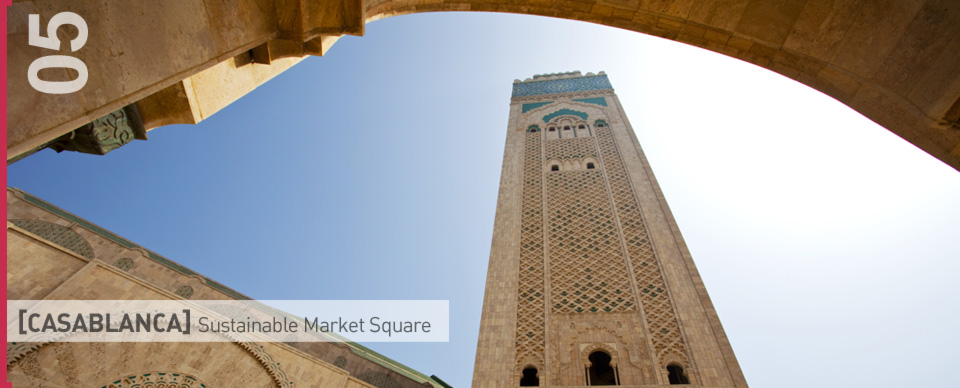 New Sustainable Market Square In Casablanca