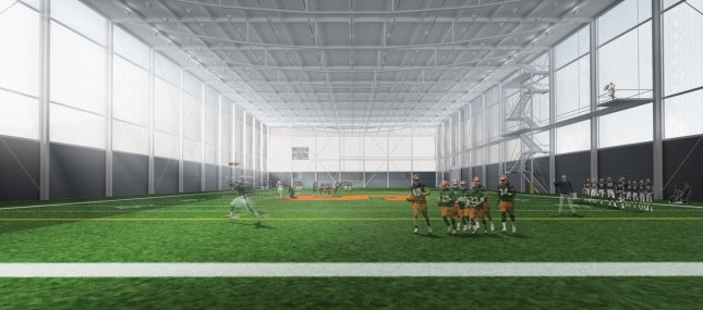 Syracuse University Football Training Facility By