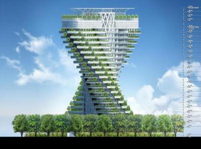 Agora Tower Vincent Callebaut